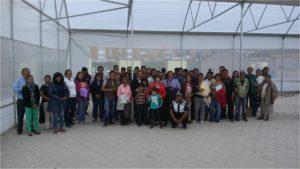 Hydroponics training center, Toluca Mexico